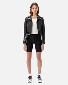 John Elliott - Women's Laine Biker Shorts / Black