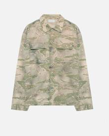 John Elliott Military Shirt / Washed Tiger Camo