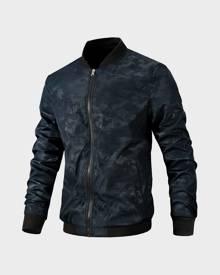 SHEIN Men Camo Print Bomber Jacket