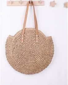 SHEIN Straw Circle Bag