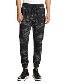 Karl Lagerfeld Paris Camouflage Track Pants