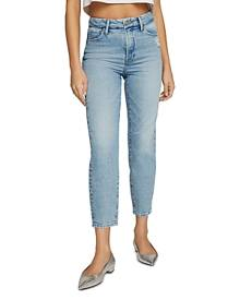 Good American Mom Jeans in Blue636