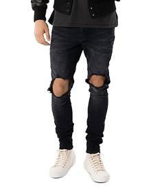 Purple Brand Skinny Fit Jeans in Raw Indigo