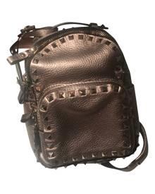 Valentino Garavani Rockstud Metallic Leather Backpack for Women