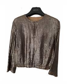 Drome \N Metallic Leather Jacket for Women