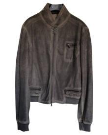 Benetton \N Metallic  Leather Jacket for Women
