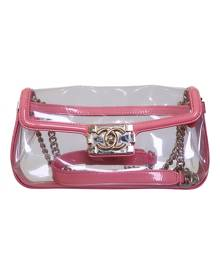 Chanel Boy Pink  Handbag for Women Vintage