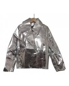 Simone Rocha \N Metallic Leather Leather Jacket for Women