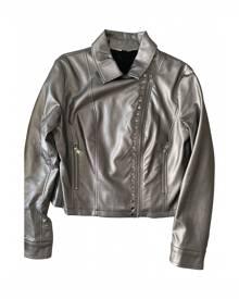 Liu.jo \N Metallic  Leather Jacket for Women