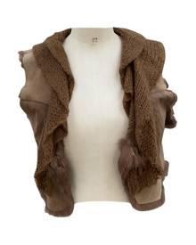 Stefanel \N Metallic Leather Jacket for Women