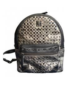 Mcm \N Metallic Leather Backpack for Women
