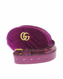 Gucci \N Purple Velvet Belt Bag for Men
