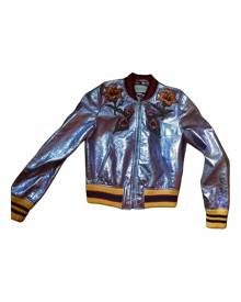 Gucci \N Metallic Leather Leather Jacket for Women