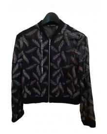 Zara \N Metallic  Leather Jacket for Women