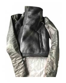 Rick Owens \N Metallic Leather Leather jacket for Women 40 IT
