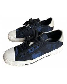 Valentino Garavani Rockstud Blue Trainers for Men 42 EU