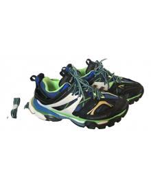 Balenciaga Track Multicolour Leather Trainers for Men 42 EU