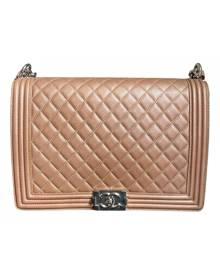 Chanel Boy Camel Leather handbag for Women \N