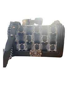 Chanel Boy Black Tweed handbag for Women \N