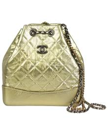 Chanel Gabrielle Metallic Leather backpack for Women \N