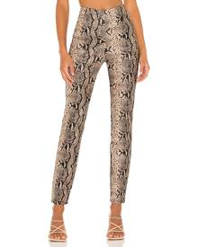 superdown Donna Snake Pant in Taupe. Size M, S, XS, XXS.