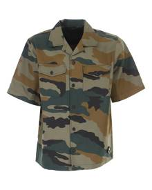 Diesel Shirt for Men On Sale, Military Brown, polyester, 2021, S • IT 46 M • IT 48 L • IT 50 XL • IT 52