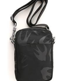 Alexander McQueen McQ Messenger Bag for Men On Sale, Black, Nylon, 2019
