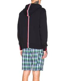 Thom Browne Back Stripe Hoodie in Navy - Blue. Size 0 (also in 1,3).