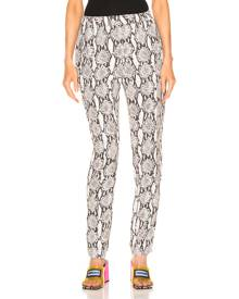 A.L.C. Elijah Snake Print Pant in Nude - Animal Print,Neutral. Size 2 (also in 4).