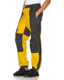 The North Face Black 94 Rage Rain Pant in Leopard Yellow & Asphalt Grey - Gray,Yellow. Size L (also in S,M,XL).