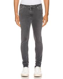 Nudie Jeans Skinny Lin in Concrete Grey - Gray. Size 29x32 (also in ).