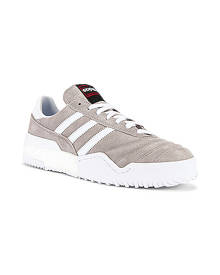 adidas by Alexander Wang Bball Soccer Sneaker in Clear Granite & Core White - Neutral,White. Size 7 (also in 8,9,9.5).