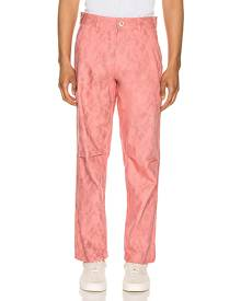 Comme Des Garcons SHIRT Print Pants in Pink - Abstract,Animal Print,Pink. Size L (also in M,S).