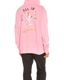 Just Don Sveta Dealers Hoodie in Pink - Pink. Size L (also in M,S,XL).
