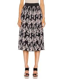 PACO RABANNE Printed Midi Skirt in Multi