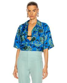 Givenchy Hawaii Shirt in Blue,Floral,Tropical