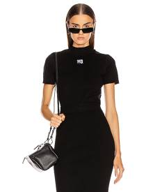 T by Alexander Wang Foundation Bodycon Bralette in Black