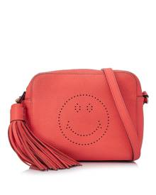 Anya Hindmarch Smiley Leather Crossbody Bag