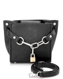 Alexander Wang Calf Leather Attica Chain Crossbody Bag
