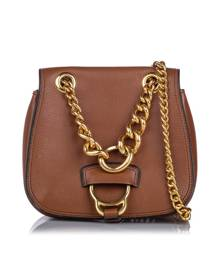 Miu Miu Dahlia Leather Crossbody Bag