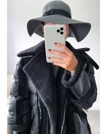 IKRUSH Arla Floppy Hat Grey UK 1SZE