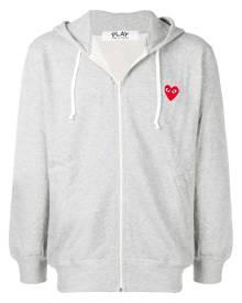 Comme Des Garçons Play zipped hooded jacket