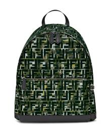Fendi FF motif backpack