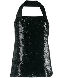 Yves Saint Laurent Pre-Owned single strap sequin top