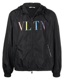 Valentino logo-print windbreaker