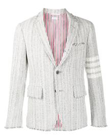 Thom Browne tweed single-breasted blazer
