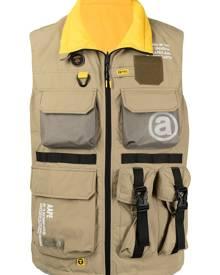 AAPE BY *A BATHING APE® zip-up utility vest
