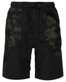 A BATHING APE® camouflage-print track shorts