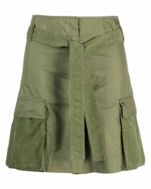 Kenzo high-waist cargo shorts