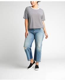 Silver Jeans Frisco High-Rise Vintage Wide-Leg Jeans